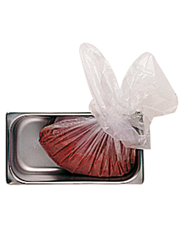 200 e. tÜten aufbewahrung/transport lebensmittel 15µ 46x76,5 cm transparent pe-hd (1 einheit)