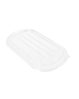 lids lunch box 216.01/02/03/04 'bionic' 23,6x13,5x1,4 cm clear pet (500 unit)