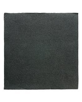 napkins glitter 'double point' 18 gsm 40x40 cm black tissue (1200 unit)