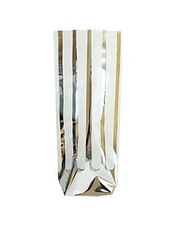 bolsas franja plata 31 g/m2 35µ 12x27,5 cm transparente pp (100 unid.)
