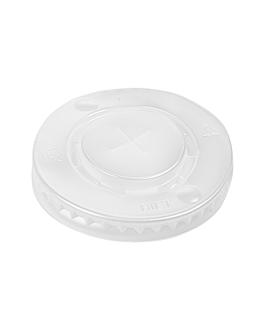 lids for cups codes 229.07,153.85 Ø 8,4 cm translÚcido ps (2000 unit)