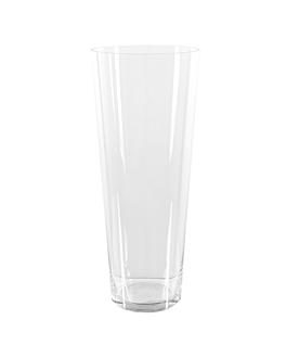 """dÉcoration gÉante """"verre"""" Ø 25,5x70 cm transparent verre (1 unitÉ)"""