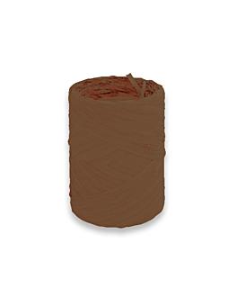 ruban 'raphlene' 12,5 mmx100 m chocolat pp (1 unitÉ)