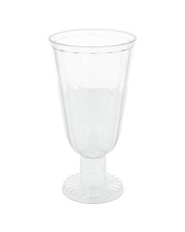 plastik eisbecher - 250 ml 7,3x14 cm transparent ps (160 einheit)