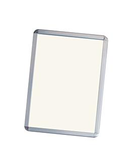cartelera 47x60 cm plateado aluminio (1 unid.)