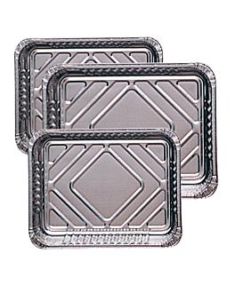recipientes rectangulares 5 l 39,6x33,5x5 cm aluminio (200 unid.)