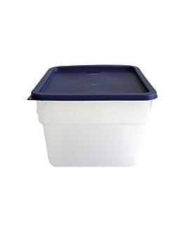 contenitorealimenti 12 l 28,5x28,5x21 cm bianco pp (1 unitÀ)