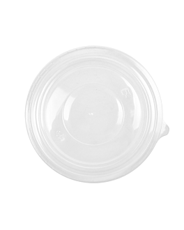 lids for items 212.97,226.37,226.38 Ø18,4 cm clear pp (300 unit)