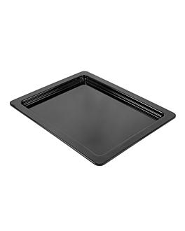 pans gn 1/2 2 (h) cm black melamine (6 unit)