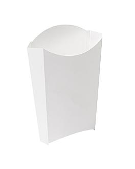 boÎtes À frites 'thepack' 190 g 230 g/m2 14,5x9,5x18 cm blanc carton ondulÉ nano-micro (1000 unitÉ)