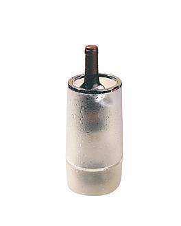 funda botellas vino Ø 12x23 cm glaseado acrÍlico (1 unid.)