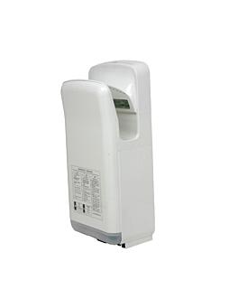 """electric hand-dryer """"dual"""" 68 l"""" 35ºc 30x22x68 cm white abs (1 unit)"""