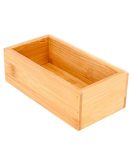 kiste fÜr buffet 8x15,5x5 cm natur bambus (1 einheit)