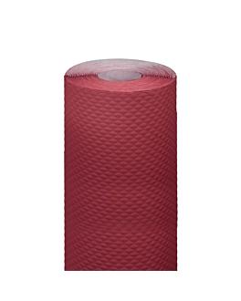 banquet roll 48 gsm 1,20x7 m burgundy cellulose (25 unit)