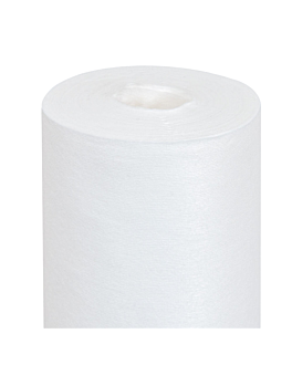 nappe 'like linen' 70 g/m2 1,20x25 m blanc spunlace (1 unitÉ)