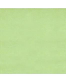 toalhas de mesa dobradas m 'like linen' 70 g/m2 120x120 cm verde maÇÃ spunlace (200 unidade)