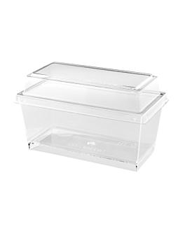 500 behÄlter fÜr hÄppchen 9,8x4,7x4,5 cm transparent ps (500 einheit)
