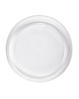lid for item 240.03/09/12 Ø11,1 cm clear pp (500 unit)