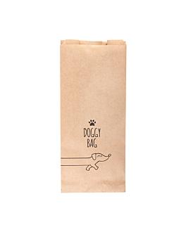 """sacs """"doggy bag"""" 70 g/m2 14+8x32 cm naturel parch.ingraissable (100 unitÉ)"""