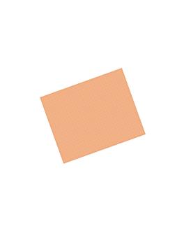 tablecloths 48 gsm 70x110 cm salmon pink cellulose (500 unit)
