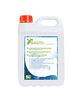 detergente com oxigÊnio ativo 5l 18x13x29 cm (4 unidade)