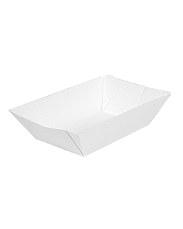 containers 'thepack' 120 g 230 gsm 7,4x4,8x3,3 cm white nano-micro corrugated cardboard (2400 unit)