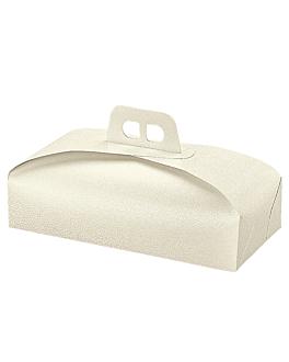 boÎtes pour tartes 32x22x7 cm blanc carton (100 unitÉ)