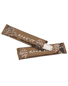 "rince-doigts ""roll-it""  14,5x4 cm blanc cellulose (1280 unitÉ)"