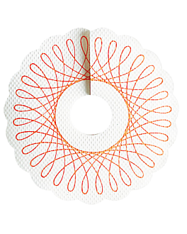 salva gotas para copas Ø 9 cm blanco papel (1000 unid.)