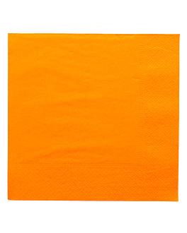 serviettes ecolabel 2 plis 18 g/m2 39x39 cm clementine ouate (1600 unitÉ)