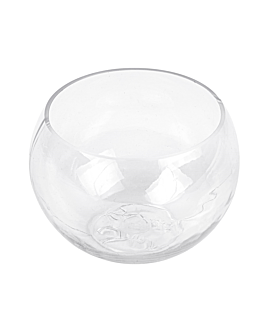 "injected mini bowls ""sphere"" 75 ml 5,7x4 cm clear apet (200 unit)"