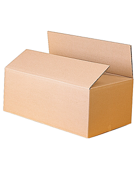 corrugated cardboard boxes 50x40x25 cm natural cardboard (16 unit)