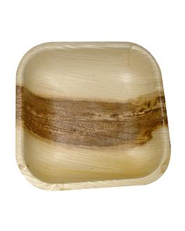 piatti quadrate 'areca' 11,5x11,5x1,5 cm naturale areca (200 unitÀ)