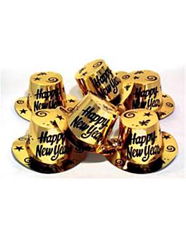 hauts de forme Ø 30 cm dore carton (12 unitÉ)