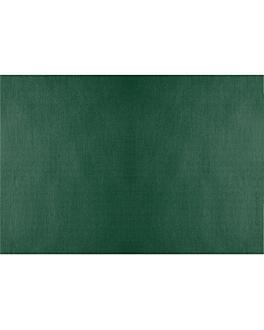 manteles plegado m 48 g/m2 80x120 cm verde jaguar celulosa (200 unid.)