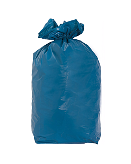 20 u. colores garbage bags 110 l 70µ 70x110 cm blue peld (5 unit)