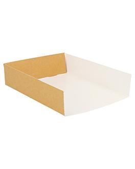 palas diversos usos 300 g/m2 15x12x3,5 cm marrÓn cartÓn (1000 unid.)