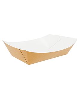 barchette 2400 g 300 g/m2 17x9,5x6,5 cm marrone cartone (100 unitÀ)