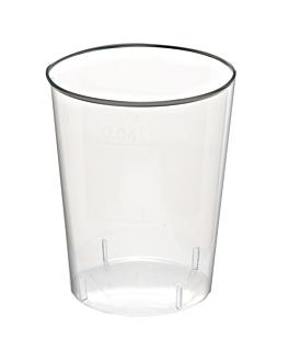 verres injectÉs À liqueur 20/30 ml Ø 4,2x4,2 cm transparent cristal ps (2000 unitÉ)