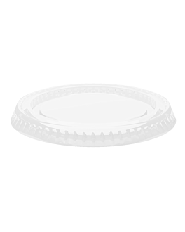 lids for tubs codes 130.15/08/10 Ø 6,2 cm clear pet (2500 unit)