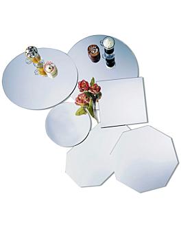 spiegelplatten oval 51x41x0,5 cm acryl (1 einheit)