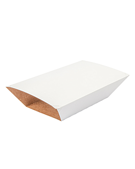 fundas para barquillas 2400 g 275 g/m2 17x9,8x7 cm blanco cartÓn (400 unid.)