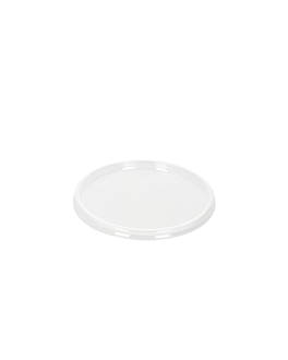 flat lids for items 126.57/58/83 Ø 11 cm clear ops (1000 unit)