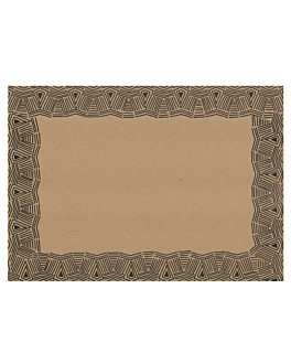 table mats offset 'maya' 70 gsm 31x43 cm four coloured kraft (2000 unit)