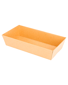 containers 250 + 12,5 pe gsm 15,5x8,5x3,5 cm natural kraft (1000 unit)