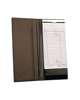 cubierta para blocs comanda 12,5x27,5 cm marrÓn pvc (1 unid.)
