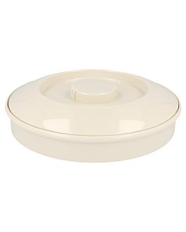 contenitori per tortilla Ø 19 cm avorio melamina (1 unitÀ)