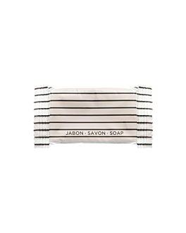 small soap bars 'flow pack' 8 g 7x3 cm white glycerine (1000 unit)