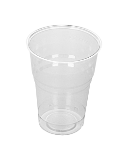 gobelets compostables 250 ml Ø 7,2x9,5 cm transparent pla (1250 unitÉ)