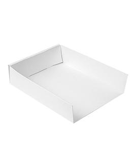 vaschette diversi usi 'thepack' 230 g/m2 15x12x3,5 cm bianco cartone ondulato a nano-micro (800 unitÀ)